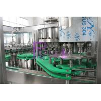 Quality 18 Head Automatic Juice Filling Machine Customized For Glass Bottles for sale