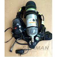 Buy cheap 6.8L Self - Contained Air Breathing Apparatus With Communications & Microphone CE Certificate from wholesalers