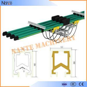 Quality Industrial Insulated Conductor Bar Overhead / Bridge Crane Busbar System for sale