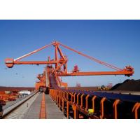 Quality Mobile Rubber Tyred Port Gantry Crane , Continuous Ship Unloader Rail Mounted Crane for sale