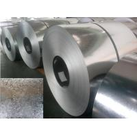 Quality DX51D Prime Hot Dipped Galvanized Steel Coils , galvanized metal strips EN10327 for sale