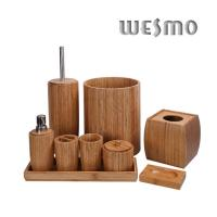 Quality Contemporary Smooth and Anti Water Natural  Bathroom Accessories Sets for sale
