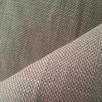 Quality Cool Gray Natural Hemp Fabric with Excellent Absorbent Ventilation 530GSM 10Nm / 2 * 10Nm / 2 for sale