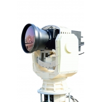 Quality Gyro Stabilized , Cooled MWIR Thermal Imager,High Tracking Accuracy Super Long Range EO IR Camera for sale