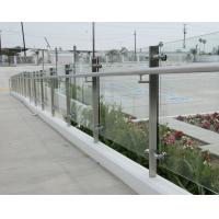 Outdoor ArchitecturalGlassPanels With Polished Edges Transparent