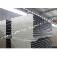 China Environment Protection PU Sandwich Insulated Panels Water Resistant for Wall Systems on sale