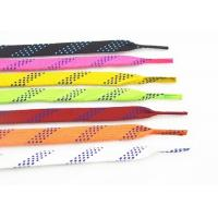 China High Tenacity Waxed Ice Skate Laces Custom Package Polyester Cotton Material on sale