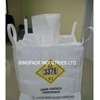 Quality Customised Four Loops UN style big jumbo bag 600kg OF virgin PP for sale