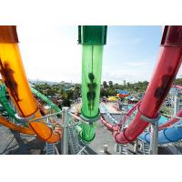 Quality Customized Size Pipe Water Slide Water Park Playground Equipment Corrosion Resistance for sale