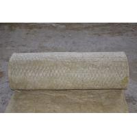 China 3000 - 7000mm Length Rock Wool Blanket Insulation , Fireproof Insulation Blanket on sale