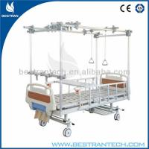 Quality Orthopedic Adjustable Beds / Manual Hospital Beds Rehabilitation , 3-Crank for sale