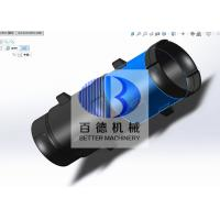 Quality SiSiC Ceramic Silicon Carbide Pipe / Natural Gas Burner Nozzles Radiant Pipe for sale
