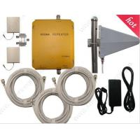 Quality WCDMA980 UMTS 2100Mhz 3G mobile phones repeaters Cell phone signal booster 3G antennas for sale