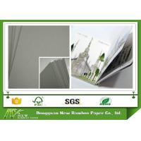 Thick Paperboard Uncoated Grey Cardboard Paper Sheet Laminated Offset Printing