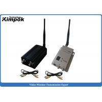Quality 5000mW Wireless Video Link 1.2G AV Transmitter and Receiver for Unmanned Aerial Vehicle for sale