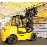 double mast forklift