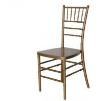 Quality Gold Resin China Chiavari Chair for Wedding,Party Event for sale