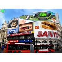 Quality P25 Outdoor Advertising LED Screens , Full Color LED Display for Advertisement for sale