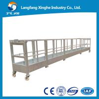 Quality hot galvanized suspended platform / suspended access platform / rope suspended platform for sale