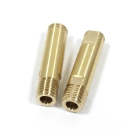 China OEM Swiss Machining Brass Precision Turned Components on sale