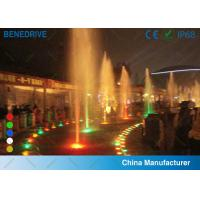 Buy cheap Colored LED Underwater Light , IP 68 submersible swimming pool lights waterproof product