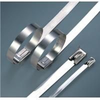 Buy cheap Electrical Releasable Stainless Steel Cable Ties Customizable Inch Standard from wholesalers