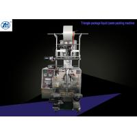 Quality Triangle Paste Packing Machine , Automatic Filling And Packaging Machines for sale
