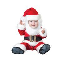 Quality Red Christmas Baby Movie Cute Infant Rompers Cosplay / cute baby girl halloween costumes for sale