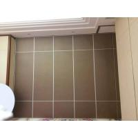 Buy cheap Finished Melamine Decorative Wooden Partition Wall / Folding Sliding Doors from wholesalers