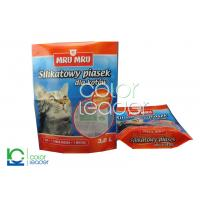 Quality Pet Food Resealable Animal Feed Packaging CPP , Strong Puncture Resistance for sale