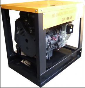 Quality Natural intaking , 12KW / 15KVA Air - cooled Deutz Diesel Generator 3 cylinder for sale