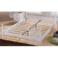Quality Artistic Design Beautiful Metal Frame Twin Bed For Couple Metal Bedroom Sets OEM Avaliable for sale