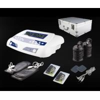Quality Home Use Dual Detox Foot Spa with Massage Belts and Pads Carrying Aluminium Case 20V 6A for sale