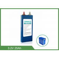 China 4000 Cycles 3.2 V Lifepo4 Lithium Rechargeable Battery 25Ah For Automobiles on sale