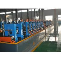 Quality High Frequency Straight Seam Welded Pipe Mill , Tube Making Machine for sale