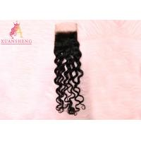 China Raw Italian Wave With 4*4 Lace Front Closure 100% Virgin Human  Hair on sale