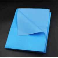 Quality Hospital Disposable Bed Sheets With SMS PP Spun Bonded Nonwoven Fabric for sale