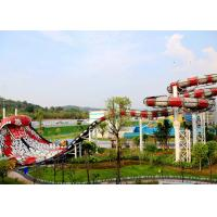 Quality 17 M Platform Height Custom Water Slides Boa Constrictor For Theme Water Park for sale