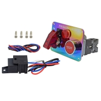 China 12V Red LED Racing Car Engine Start Push Button Ignition Switch Panel Toggle on sale