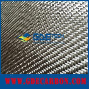 China 3k carbon fiber fabric plain/twill custom width/gsm on sale