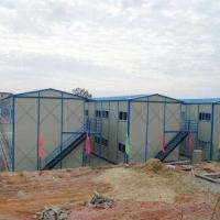 China Prefab Accommodation with 200 PU Roof Tiles on sale