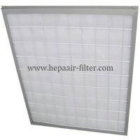 Quality Aluminum Frame Panel Primary Pleated Media Filter HEPA Air Conditioning Filters for sale