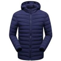 Quality Regular Length Mens Light Down Jacket Windproof 100% Polyester Lining for sale