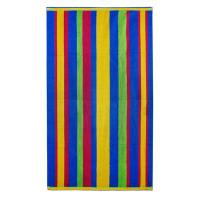 China 100%cotton reactive printed velour beach towels on sale