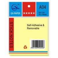 Quality Memo, Notebook, Promotion Gift, Office Staitonery, Sticky Notepad (QX-A04) for sale