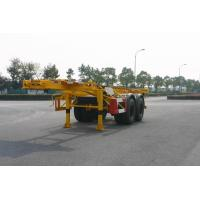Quality Utility 40ft / 20ft Skeleton Container Trailer Chassis / Semi Trailer 2 Axles for sale