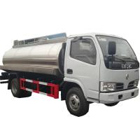 Quality brand new 3 ton 4x2 small stainless steel potable water transport tank truck 3000 liters for sale, water sprinkling tank for sale