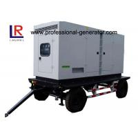 Quality Low Noise 8kw to 500kw Diesel Mobile Power Generator with AC 3 Phase Digital Control Panel for sale
