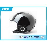 Quality Black and White Double Color Durable Outdoor Sport Snow Ski Helmets For Skating for sale