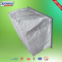 Quality White Medium Performance Synthetic Fiber  Air Filters For Ventilation System for sale
